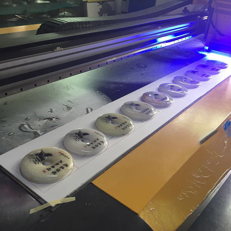 离子风棒针对UV平板机静电消除方案